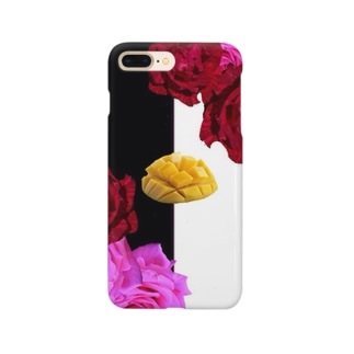 いただきマンゴー💛💖 Smartphone cases