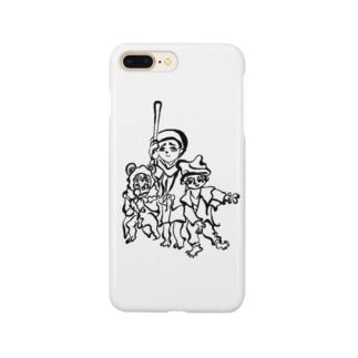 トリオトリオトリオ Smartphone cases