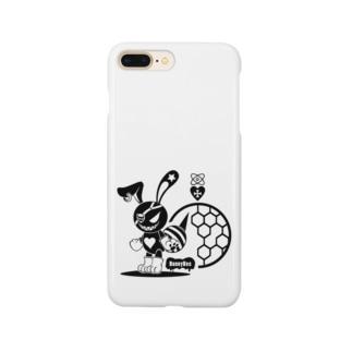 バニービー・アイパッチ Smartphone cases