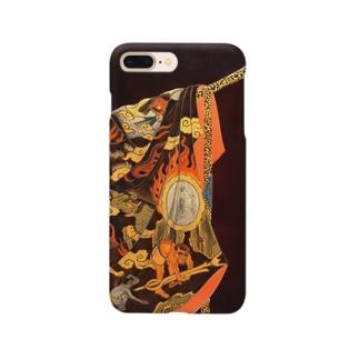 地獄大夫蒔絵硯箱 Smartphone cases