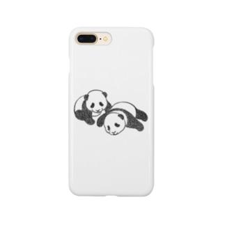 双子パンダ Smartphone Case