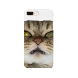 猫ネコショップの猫ネコ(顔) Smartphone Case
