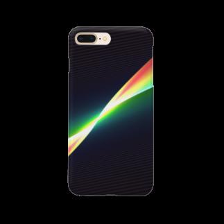 真夜猫の電子玉虫境界 Smartphone cases