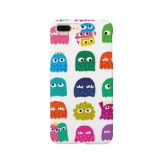 ベーシックα煩悩ホワイト Smartphone cases