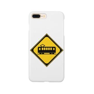 踏み切り有 Smartphone cases