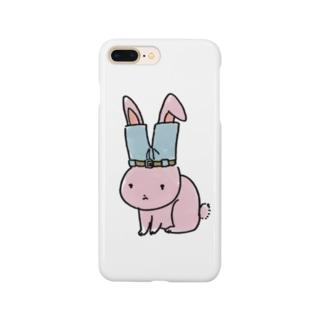 ズボンうさぎ Smartphone cases