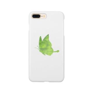 ちょうちょ butterfly Smartphone cases