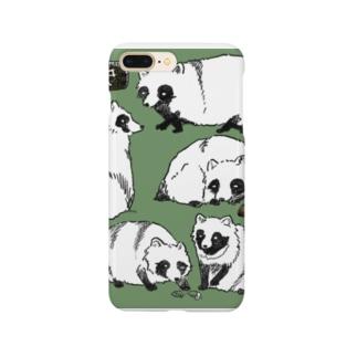 たぬき Smartphone cases