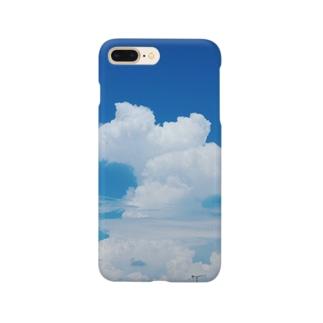 でっかい雲 Smartphone cases