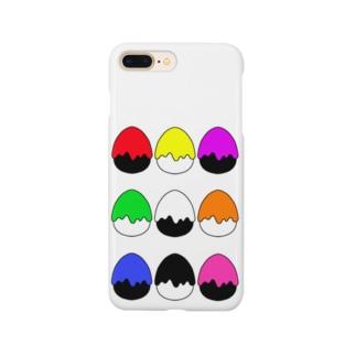 たまご型にペンキかかった(9色) Smartphone Case