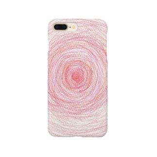 色と数字の言葉【赤・1編】 Smartphone cases