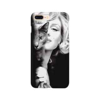 黒猫と私 Smartphone cases