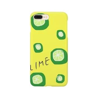ライム Smartphone cases