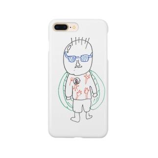 伊吹くんの亀仙人 Smartphone cases