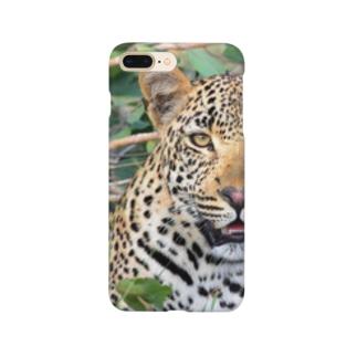 豹柄 Smartphone cases