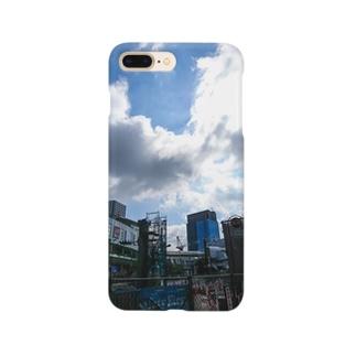 雲と工事 Smartphone cases