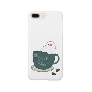 コーヒーカップ文鳥☕  (文鳥の日 2021記念) Smartphone Case
