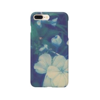 blue flower Smartphone cases
