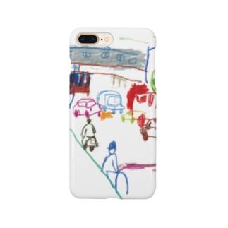 大村タイシ街の手帖特別号記念イラスト Smartphone cases