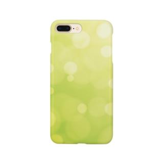 bokeh-green Smartphone cases