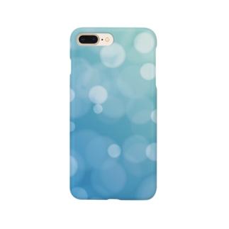 bokeh-blue Smartphone cases