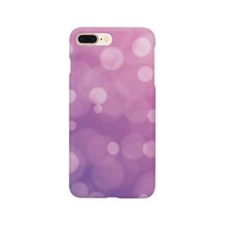 bokeh-purple Smartphone cases