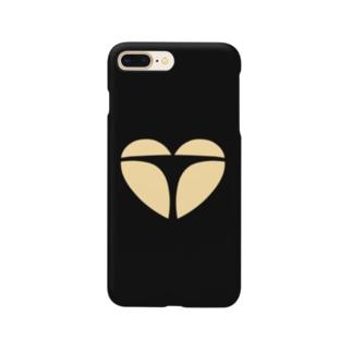おしりフェチさんのためのハート Smartphone cases