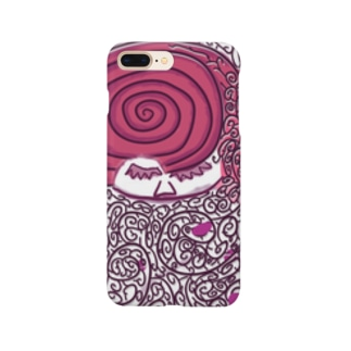 枝毛が凄い人 Smartphone cases