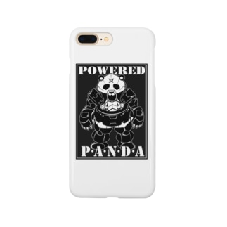 POWERED PANDA Smartphone cases