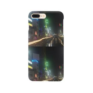ナイトフォト(道頓堀) Smartphone cases