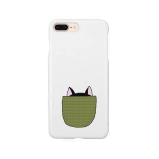 ポケットのクロ Smartphone cases