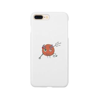 yagiyaのshirotaro-リトルデーモン- Smartphone cases