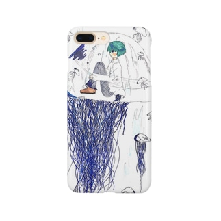 引きこもる Smartphone cases