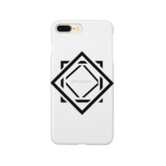 シカクイージー Smartphone cases