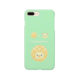 MelonpanNyan エキゾチックヘア 猫 Smartphone cases