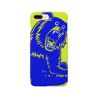 こっちむいてクマさん Smartphone cases
