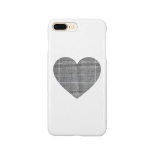 可愛いグレンチェック  Smartphone cases