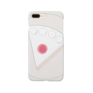 ショートケーキの平面図 Smartphone cases