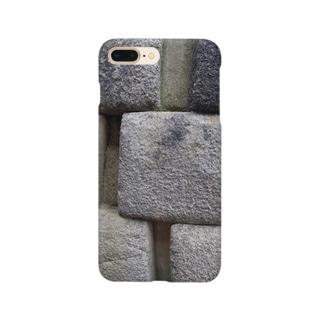 nice☆stone-マチュピチュ遺跡-石壁 Smartphone cases