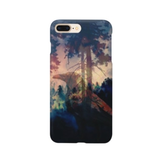 forest fire Smartphone cases