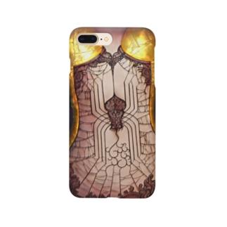 スパイダー・コルセット Smartphone cases