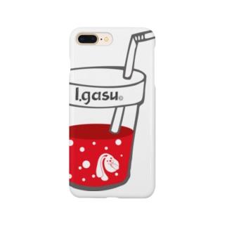 I.gasu drink 【アイガス】 Smartphone cases