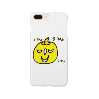 KABOCHA -Cute Pumpkin- うひょうひょ Smartphone cases