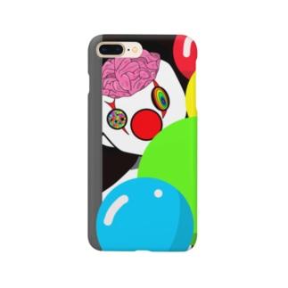 ぴえろくん Smartphone cases