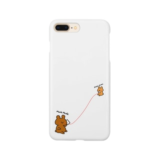 MoshiMoshiくま Smartphone cases