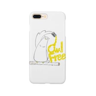I.gasu owlfree1 【アイガス】 Smartphone cases