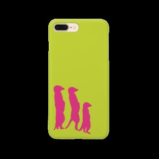 harupii_0203のミーアキャット Smartphone cases