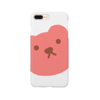 ピンクマ Smartphone cases