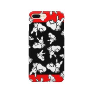 カオスうさぎ:和【多数】 Smartphone cases