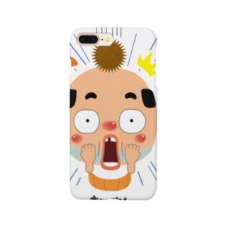 ちっちゃいおっさん(ビッ栗) Smartphone cases